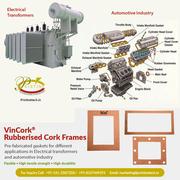 Rubberised Cork Frames manufacturer,  Supplier & Exporter
