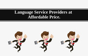 Language Service Providers at affordable price.