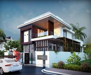 Remarkable 3D Bungalow Elevation Designing From One Of The Top Compani