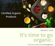Online Certified Organic Products in India