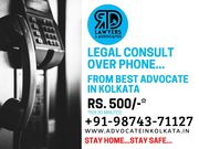 Phone consult with mutual divorce lawyer in kolkata