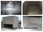 Water sump leak repair Solution Bangalore