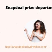 Snapdeal prize department