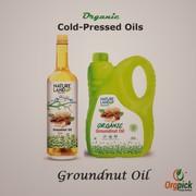 Buy Organic Groundnut Oil Online at Orgpick