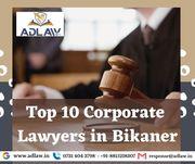 Top 10 Corporate Lawyers in Bikaner