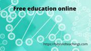 Free education Online