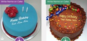 Generate Cake Images with Name for Your Friends,  Family & Others