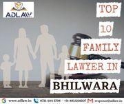 Top 10 Family Lawyers in Bhilwara