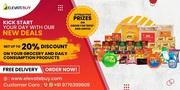 App to order groceries online