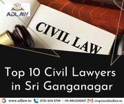 Top 10 Civil Lawyers in Sri Ganganagar