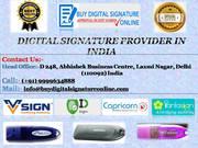 DIGITAL SIGNATURE SERVICES IN DELHI