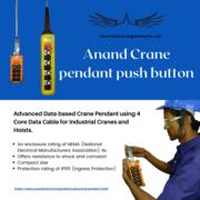 Pendant push button station for EOT crane